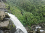 Waterfall rappelling & Flying Fox