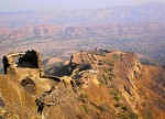 Pamavati Machi View from Bale killa Rajgad Night Trek by Explorers Pune Mumbai