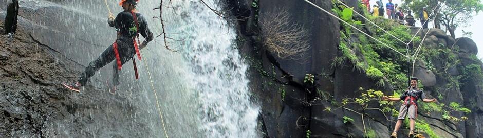Lonavala Waterfall Rappelling 2018 #Explorers #ExplorersTreks&Tours #ExplorersOutdoors #ExplorersPune #Treks&Tours #adventure #rappelling #waterfallrappelling #trekking #nature #teamexplorers