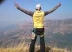 Lingana Sunil Gujar - lingana Climbing & Rappelling by Explorers Pune Mumbai