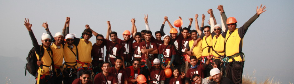 Lingana Summit lingana Climbing & Rappelling by Explorers Pune Mumbai
