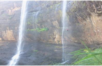Kataldhar Waterfall Rappelling
