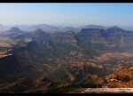 Harishchandragad view from Taramati