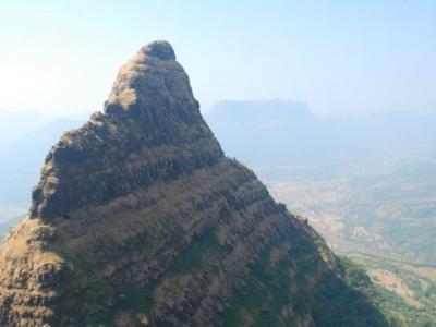 Lingana View from Railing Platue lingana Climbing & Rappelling by Explorers Pune Mumbai