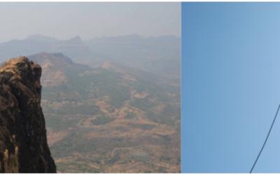 Raigad - Takmak Tok 1000 feet Rappelling