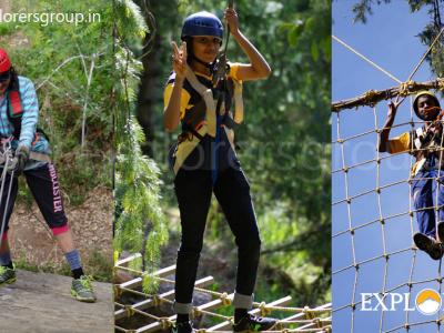 Adventure Activities Manali Adventure Camp Explorers Pune Mumbai