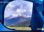 Tali Camp View Kuari Pass Trek Explorers Pune Mumbai