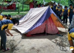 Tent Pitching - Manali Adventure Camp Explorers Pune Mumbai