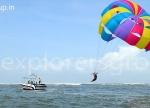 Explorers Tarkarli Beach Camping Water Soprts Parasailing