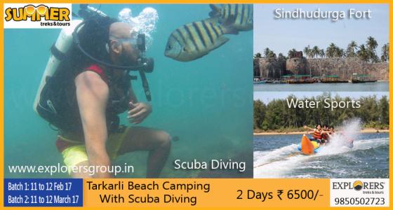 Tarkarli Beach Camping & Scuba Diving