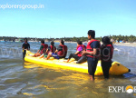 Explorers Tarkarli Beach Camping Banana Ride