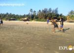 Explorers Tarkarli Beach Camping Beach Games