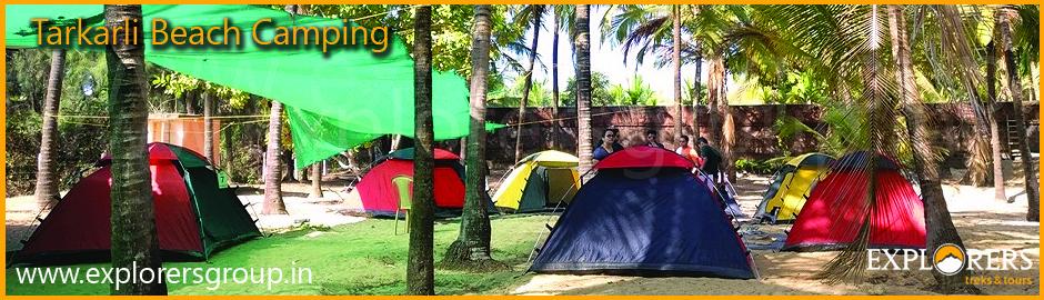 Tarkarli Beach Camping by Explorers Pune Mumbai
