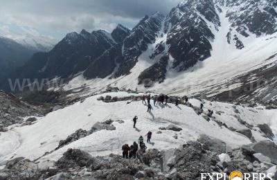 Approaching - Pha Konda Peak expedition by Explorers Pune Mumbai