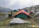Establishing Summit Camp - Pha Konda Peak expedition by Explorers Pune Mumbai