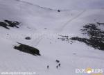 Glissading on way back - Teku Ri Tapri - Pha Konda Peak expedition by Explorers Pune Mumbai