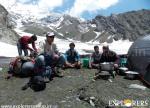 Tough but enjoying Maggie - Pha Konda Expedition by Explorers Pune Mumbai