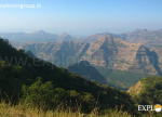 View from Ghumatichi Ghati - Chandragad to Aurther Seat Trek Explorers pune Mumbai