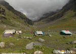 Bhallu- Ka- Dhera campsite - Hampta Pass Trek by Explorers Pune Mumbai