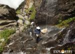 Cascading point enrooted Juara - Hampta Pass Trek by Explorers Pune Mumbai