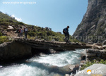 Chhika River - Hampta Pass Trek by Explorers Pune Mumbai