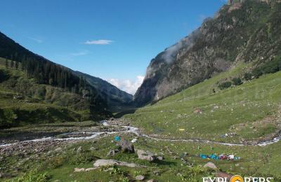 Chhika Valley view - Hampta Pass Trek by Explorers Pune Mumbai