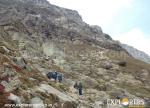 Descending down- Sheya Ghoru - Hampta Pass Trek by Explorers Pune Mumbai