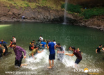 Enjoy Devkund Waterfall Trek Explorers Pune Mumbai