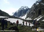 Heading from Juara - Hampta Pass in Pre-Monsoon - Hampta Pass Trek by Explorers Pune Mumbai