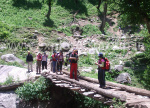 Jhobri Bridge - Deo Tibba Base Camp Trek by Explorers Pune Mumbai