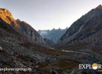Mesmerizing Morning at Sheya Ghoru - Hampta Pass Trek by Explorers Pune Mumbai