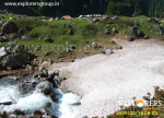 Ooching Bihaii Campsite - Near at snowy Bridge - Deo Tibba Base Camp Trek by Explorers Pune Mumbai