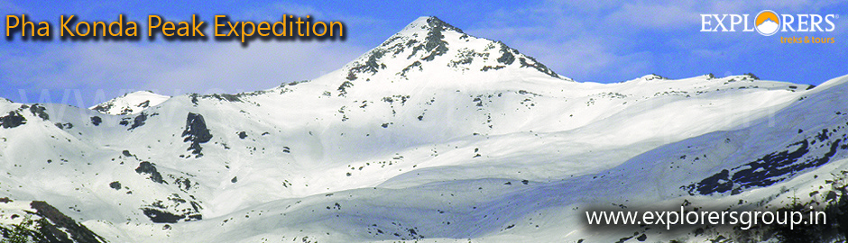 Phakonda Peak Expedition by explorers