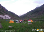 Piyangniru During Summer - Deo Tibba Base Camp Trek by Explorers Pune Mumbai