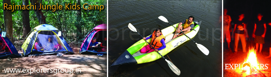 Rajmachi Jungle Kids Camp by Explorers Pune Mumbai
