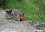Rappelling At Kharimindiyari - Deo Tibba Base Camp Trek by Explorers Pune Mumbai