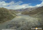 Scattered Chandra River at Samudara Tapu - Hampta Pass Trek by Explorers Pune Mumbai