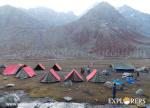 Sheya Ghoru campsite - Hampta Pass Trek by Explorers Pune Mumbai