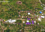 Aerial View - Base camp Shuru Explorers Pune mumbai Adventure Trek Manali Snow Trek