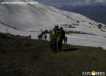 Approaching to Summit camp Explorers Pune mumbai Adventure Trek Shirghan-Tungu Trek