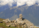 Cairns at Bhantoo Dugh Explorers Pune mumbai Adventure Trek Shirghan-Tungu Trek