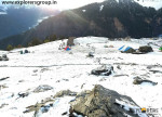 Fresh Snowfall Kharimindiyari Explorers Pune mumbai Adventure Trek Manali Snow Trek