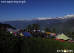Explorers Pune mumbai Adventure Trek Shirghan-Tungu Trek Warm up session at Kurrdi