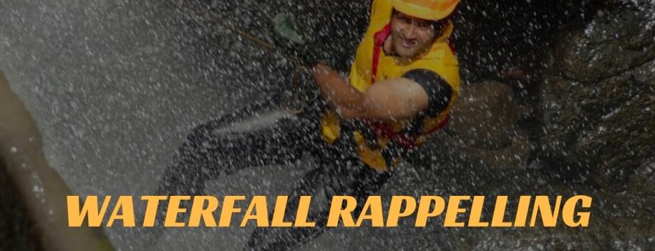 Explorers Waterfall Rappelling
