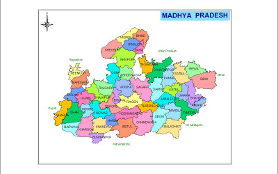 Explorers madhya pradesh map