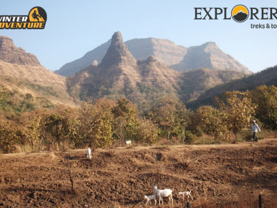 Explorers Adventure Treks Tours Pune Mumbai Gorakhgad Adventure Trek
